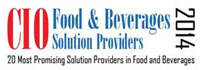 20 Most Promising Solution Providers In Food And Beverages - 2014