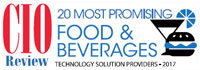 Top 20 Food & Beverages Technology Solution Companies - 2017