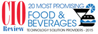 Top 20 Food And Beverages Technology Solution Companies - 2015