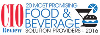 20 Most Promising Food And Beverages Technology Solution Providers - 2016